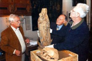 Maria komt aan in Hoorn. Foto Henk de Weerd